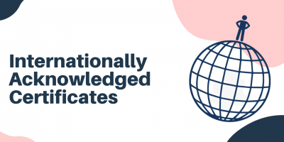 Internationally Acknowledged Certificates